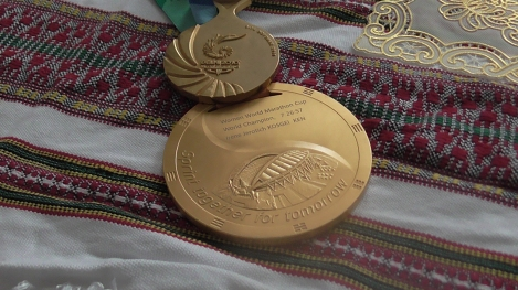 Commonwealth Games gold medal and world championships team gold